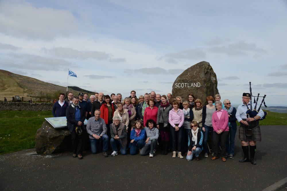 Kolpingfamilie Stukenbrock bereist das schöne Schottland