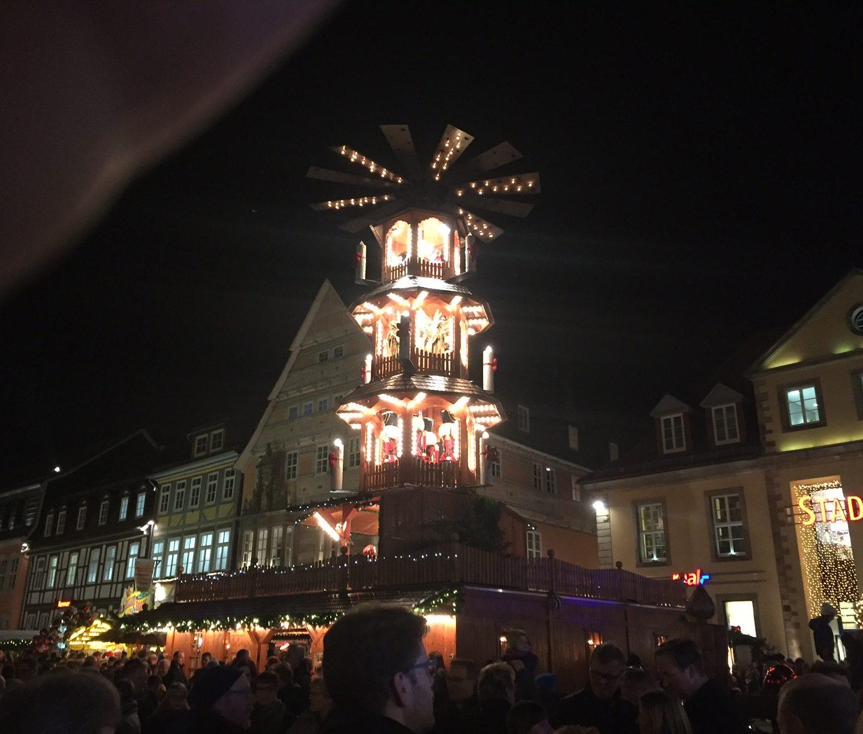 Besuch des Weihnachtsmarktes in Hameln