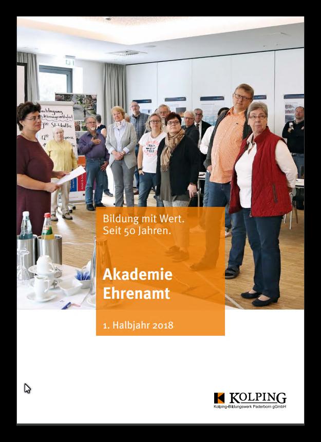 Programm der Akademie Ehrenamt online